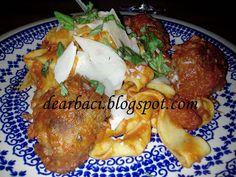 Dear Baci: Marinara Sauce with Pappardelle