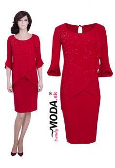 Rafinované šaty SW25 Peplum Dress, Dresses For Work, Fashion, Moda, Fashion Styles, Fashion Illustrations, Peplum Dresses