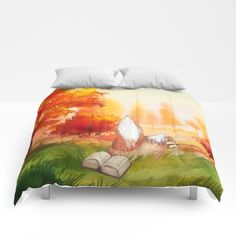 Autumn Fox Comforter  (not sure if full would be too big for my bed or not) (also these are pretty expensive, but Society6 is ALWAYS having sales)