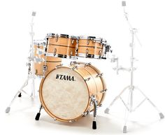"Tama Star Drum Maple Studio -SMP gggSet Konfiguration:  20"" x 14"" Bass Drum (Spannreifen in Setfarbe) 10"" x 07"" Tom Tom 12"" x 08"" Tom Tom 14"" x thomann 14"" Standtom"