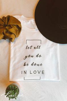 of purchase benefitting American Red Cross. Shirt Print Design, Shirt Designs, Graphic Shirts, Printed Shirts, Sinulog, T Shirt Press, Girls Summer Outfits, Word Design, Slogan Tee