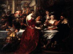 The Feast of Herod - Peter Paul Rubens