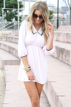 Sabo Blush Collar Dress