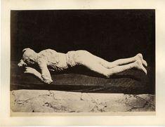 Italia, Pompei, Impronta umane     #Europe #Italia #Pompéi_Pompei