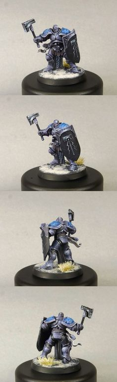 Stormcast Eternal Liberator by HooY. Manufactured by Games Workshop.
