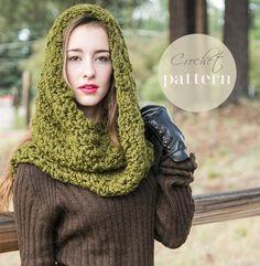 Infinity Scarf Pattern // Beginner Crochet Pattern // Crochet Loop Scarf // Learn to Crochet