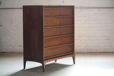 ***SNEAK PEEK*** Lane Rhythm Mid Century Modern Tall High Boy Dresser (U.S.A., 1960s)