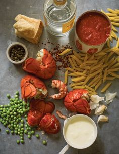 :: pasta :: Penne and Lobster with Vodka Sauce | Edible Feast via Edible Boston