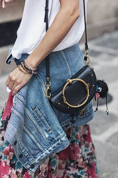 Designer bag / street style fashion #desginerbag #luxury #streetstyle #fashion /  Instagram: @fromluxewithlove