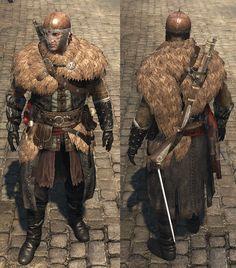 viking fur armor - Google Search