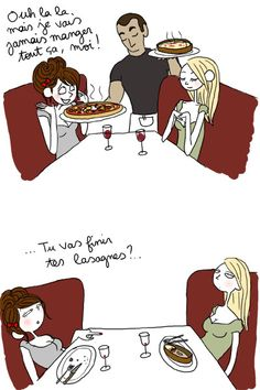 - tu vas finir tes lasagnes, par Pénélope Bagieu -                                                                                                                                                     Plus