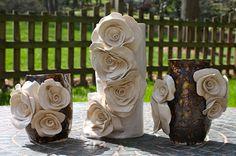 Caroline Reehl Ceramics. Obsessed with the middle vase