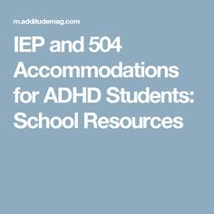 writing a section 504 plan accommodations
