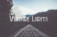 "Gradients Product Images ~ ""Vintage Lights""… ~ Creative Market"