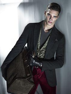 giorgio armani fw 2013 mert & marcus #ArmaniSilos #daywear