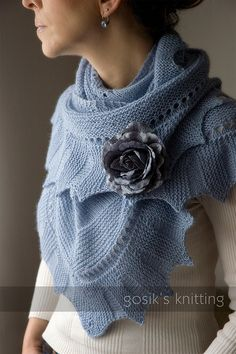 Wonderful knit scarf