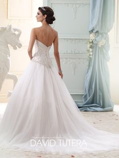 David Tutera - Velvet - 215273 - All Dressed Up, Bridal Gown