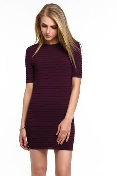 Ribbed Bodycon Dress: absolutely in LOVE with the colour of this dress. It fits your curves like a glove and allows you to move freely. Comfortable and sexy? Everyday Items, Designer Collection, Glove, Curves, Designers, Bodycon Dress, Colour, Sexy, Color