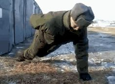 Workout Lvl. Russian | For more #cool #funny #gif #gags #comic #cute #adorable #meme #humor like this , visit CheeseFeed.co/ :)