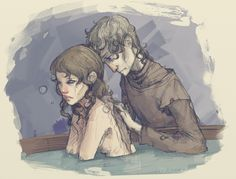 Winterfell bath by martinacecilia