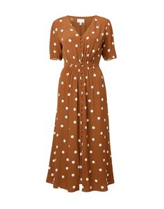 Food, Home, Clothing & General Merchandise available online! Button Dress, Short Sleeve Dresses, Long Sleeve, Clothes Horse, Work Fashion, Wrap Dress, Buttons, Fabric, Sleeves