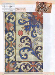 Tapestery - Majida Awashreh - Álbuns da web do Picasa Cross Stitch Love, Cross Stitch Pictures, Cross Stitch Borders, Cross Stitch Flowers, Cross Stitch Charts, Cross Stitch Designs, Cross Stitching, Diy Embroidery, Cross Stitch Embroidery
