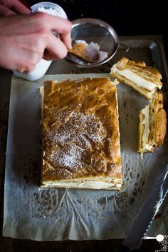 Karpatka: Polish Vanilla Custard Slice | Wholesome Cook