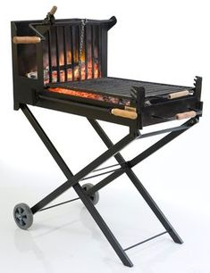 rocket stove and grill Asado Grill, Bbq Grill, Grilling, Parrilla Exterior, Built In Braai, Outdoor Barbeque, Fire Pit Grill, Homemade Smoker, Outdoor Stove