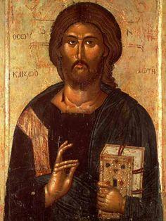 14th Century: Macedonian painting on wood by John Mitropolitian