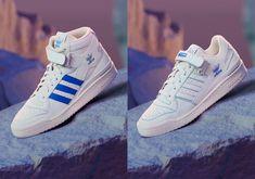 Triple Black, Blue Accents, Blue Fashion, Sportswear Brand, Black Adidas, Blue Bird, Adidas Sneakers, Heels, Heel