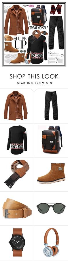 """""""Newchic 5"""" by cindy88 ❤ liked on Polyvore featuring Billabong, Giorgio Armani, Master & Dynamic and Paul Smith"""