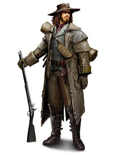 Christopher Gist (British and Colonial Rites of the Templar Order) Steampunk Characters, Sci Fi Characters, Game Character, Character Concept, Concept Art, Assassins Creed Rogue, Warhammer Fantasy, Fantasy Rpg, Fantasy Character Design