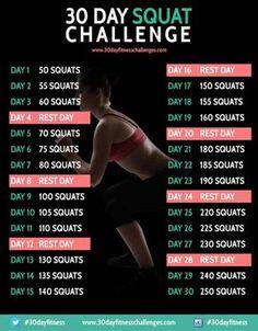 Le défi squats pour les cuisses et les fesses