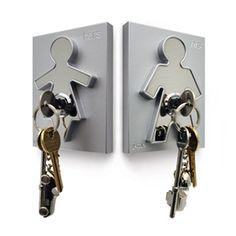Fabryka Form - Wieszak na klucze His i Hers - J-me