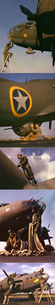 B17 crew preparing for another mission