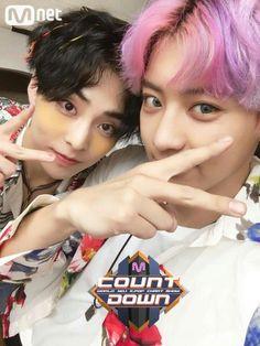 Chanyeol and Xiumin