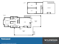 Townsend Tiny Cabin Floor Plan