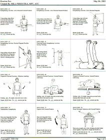 EXERCISE FOR SHOULDER STRENGTHNING. Repinned by SOS Inc. Resources pinterest.com/sostherapy/.