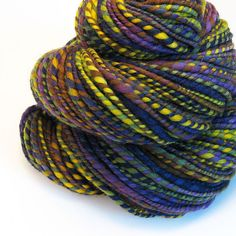 CLEARANCE  Handspun Yarn  Provence  120 Yards by valentinearts, $38.00