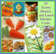 30 Easter Brunch and Lunch Kitchen Crafts
