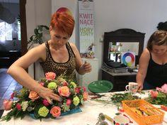 Kwitnące Horyzonty - szkoła florystyczna, KURS PODSTAWOWY, lipiec 2015, Fot. Magdalena Białynicka
