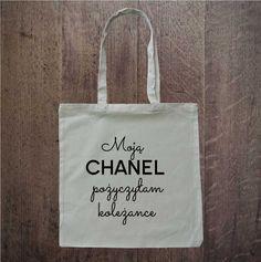 chanel bag; eko torba; eco bag; idealna na zakupy