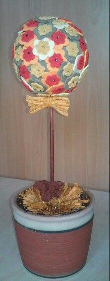 Őszi dekorgömb