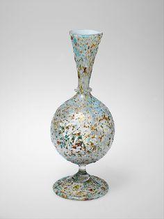 Vase 19th century  Italian, Venice (Murano) Glass