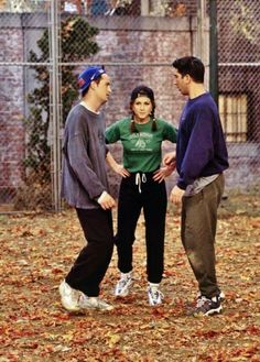 Chandler, Rachel and Ross - F.r.i.e.n.d.s