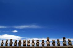 I  want to visit Easter Island to experience its beauty at sunset and sunrise!