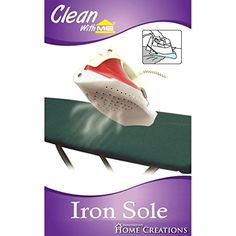 #Innovative #Home Creations-Iron Sole. Protect fabric from getting burnt! Universal size fits most irons. This package contains one 10x6-1/2 inch iron sole. Impor...