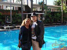 Aquí estoy con mi adorado Manny Bonet en el hotel Roosvelt. Me encanta su forma de ser, es únicooooooo y además me tiene doblada de la risa todo el tiempo. Es un personaje.