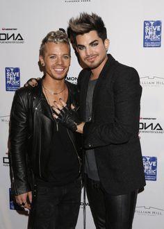 Image detail for -Adam Lambert leaves The Little Door with boyfriend Sauli Koskinen