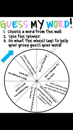 Vocabulary fun!
